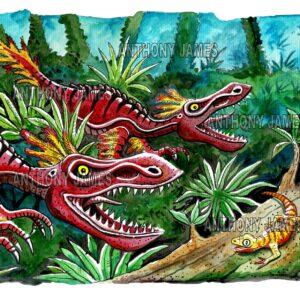 Dinosaur and Prehistoric Creature Art