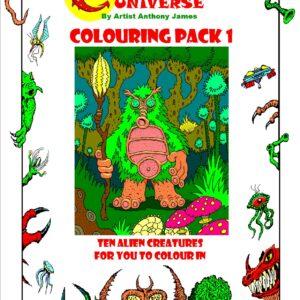 CREATURAMA Activity & Colouring Packs